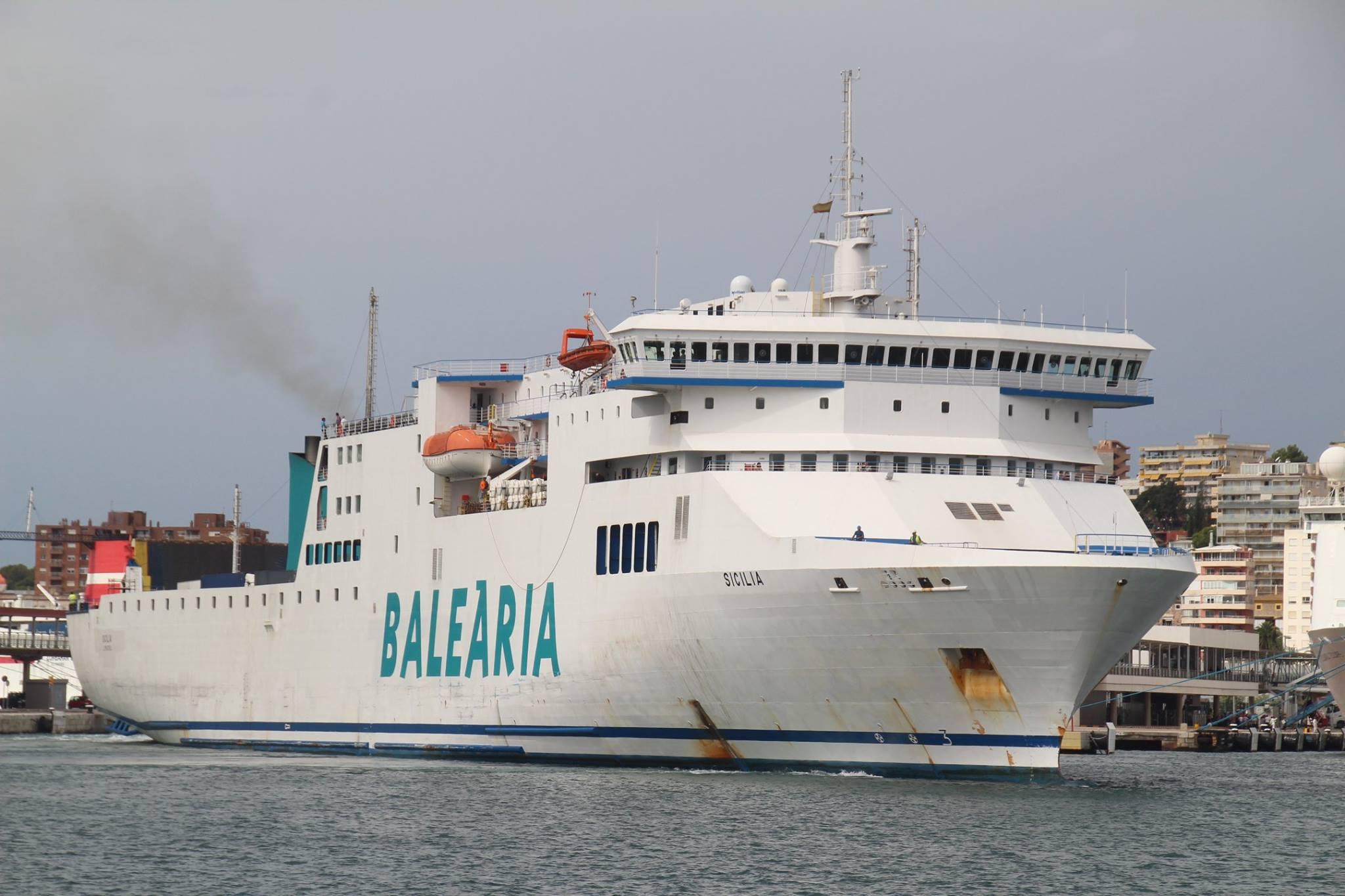 Ferry Sicilia Balearia